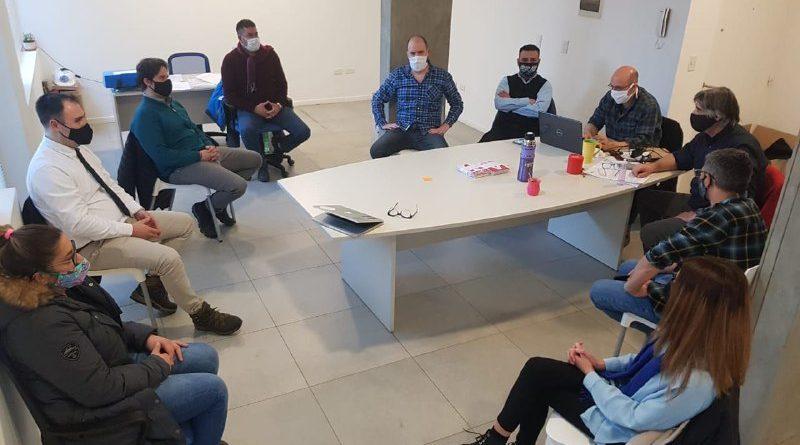 Reunión del Directorio de UISE con UTA para optimizar las medidas de prevención del Covid-19 en el Servicio de Colectivos