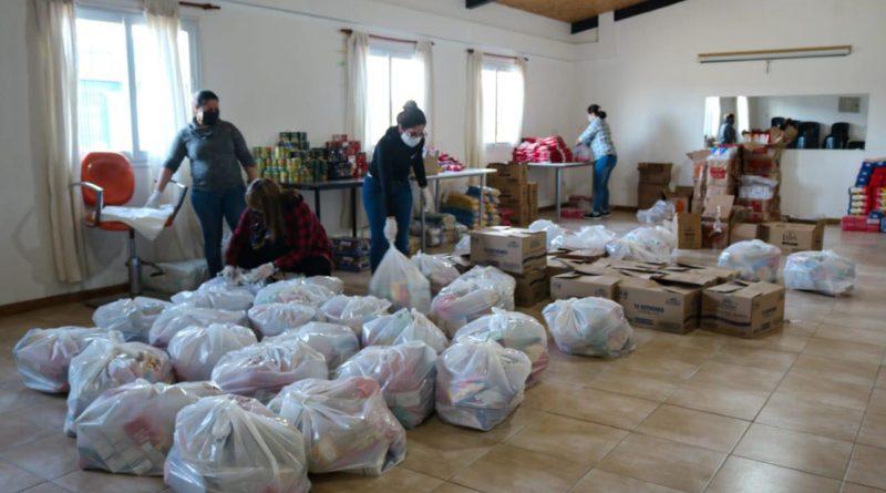 El Municipio de Tolhuin recibió Mercadería para asistir a la familias